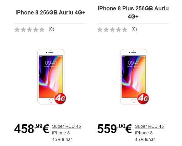 Oferte pentru iPhone 8 iPhone 8 Plus Vodafone