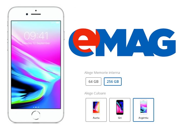 Variante iPhone 8 eMAG