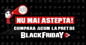 Campania Black Friday 2017 la PC Garage