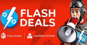 Campanie Flash Sales la eMAG