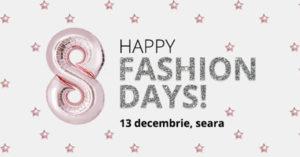 Happy FashionDays serbeaza 8 ani de moda pentru toata lumea!
