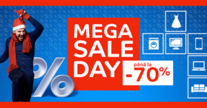 MegaSALE Day la eMAG – reduceri de pana la -70% timp de o zi