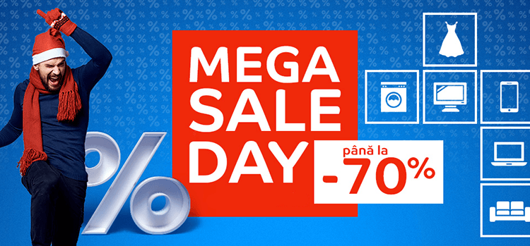 MegaSALE Day la eMAG