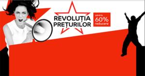 Revolutia Preturilor din 16 – 18 ianuarie la eMAG taie preturile cu pana la -60%
