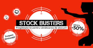 Campanie Stock Busters din 20 - 22 februarie 2018 la eMAG