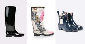 Modele de cizme de cauciuc pentru zile ploioase