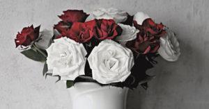 Flori cadou de Valentine's Day si Dragobete
