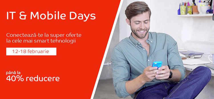 IT & Mobile Days din 12 - 18 februarie la eMAG