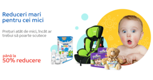 Campanie Baby Days din 6 martie - 9 aprilie la eMAG