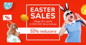 Easter Sales 2018 la eMAG – reduceri de la Iepuras