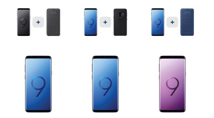 Comanda Samsung Galaxy S9 si S9 Plus Flanco