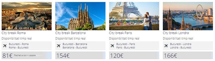 Oferte city break Veltravel
