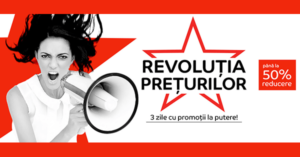 Revolutia Preturilor din 19 – 21 iunie 2018 la eMAG – 3 zile de discounturi de pana la -50%