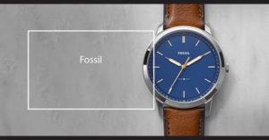 De unde poti comanda un ceas Fossil online?