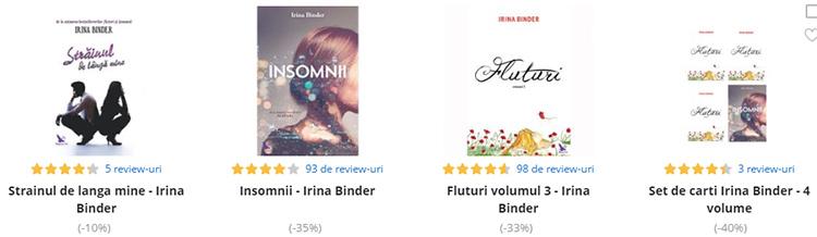 Romane Irina Binder eMAG
