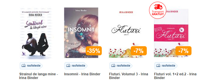 Romane Irina Binder Libris