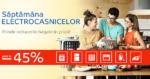Saptamana Electrocasnicelor din 30 iulie – 5 august 2018 la eMAG– reduceri de pana la -45%
