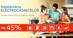 Campanie Saptamana Electrocasnicelor din 30 iulie - 5 august 2018 la eMAG
