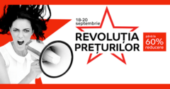 Campanie Revolutia Preturilor din 18 - 20 septembrie 2018 la eMAG