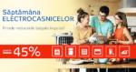 Saptamana Electrocasnicelor din 3 – 9 septembrie la eMAG aduce reduceri de pana la -45%