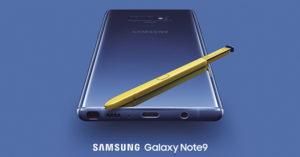 De unde comandam noul Samsung Galaxy Note 9 in magazinele online?
