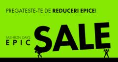 Campanie Epic Sale la FashionDays din octombrie 2018