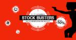 Stock Busters din 9 – 12 octombrie 2018 la eMAG reporneste vanatoarea de preturi mici!