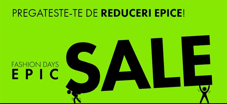 Epic Sale la FashionDays din octombrie 2018