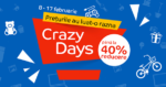 Campanie Crazy Days din 8 - 17 februarie la eMAG