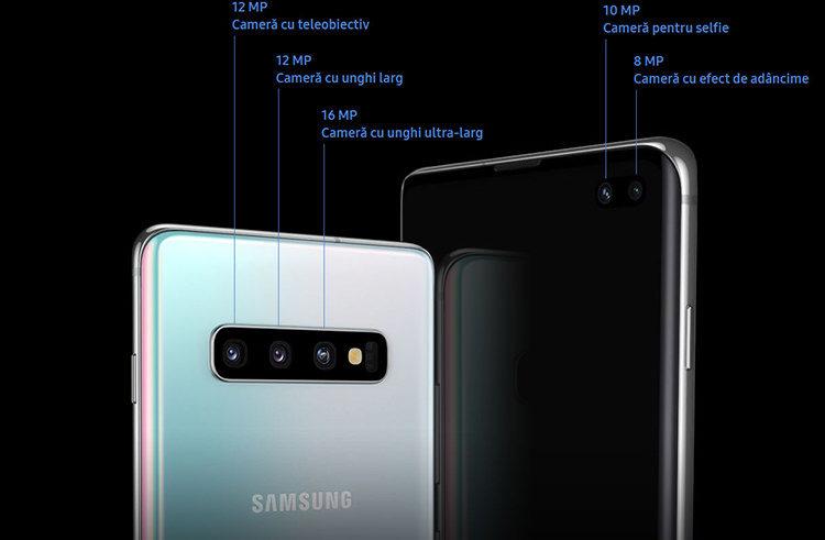 Camere Samsung Galaxy S10, S10e și S10 Plus