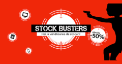 Campanie Stock Busters din 19 - 21 martie 2019 la eMAG