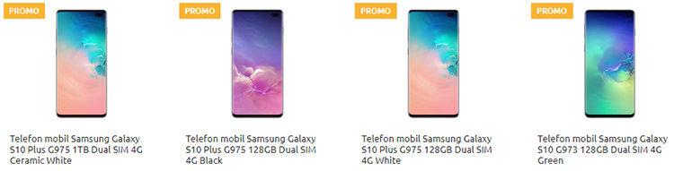 Samsung Galaxy S10, S10e și S10 Plus Cel.ro