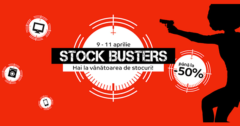 Campanie Stock Busters din 9 - 11 aprilie 2019 la eMAG