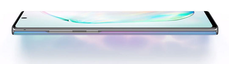 Design Samsung Galaxy Note 10 și 10 Plus