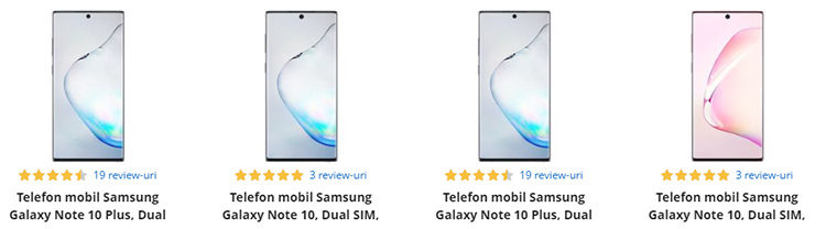 Samsung Galaxy Note 10 și 10 Plus eMAG