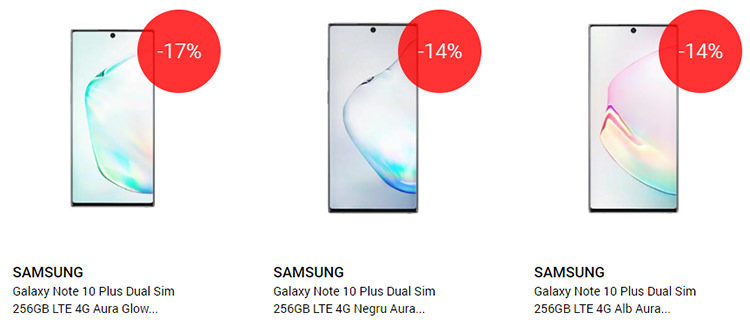 Samsung Galaxy Note 10 și 10 Plus QuickMobile