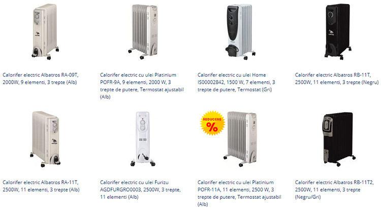 Calorifere electrice ieftine evoMAG