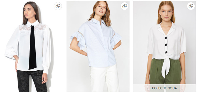 Cămașa albă FashionDays