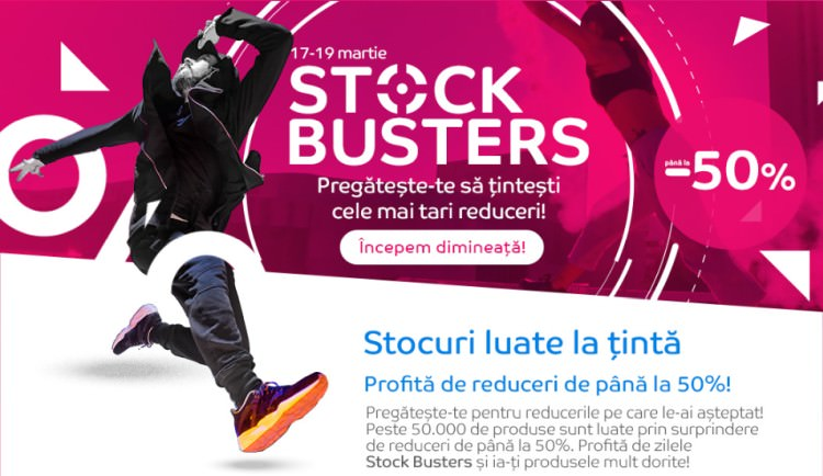 Stock Busters eMAG martie 2020